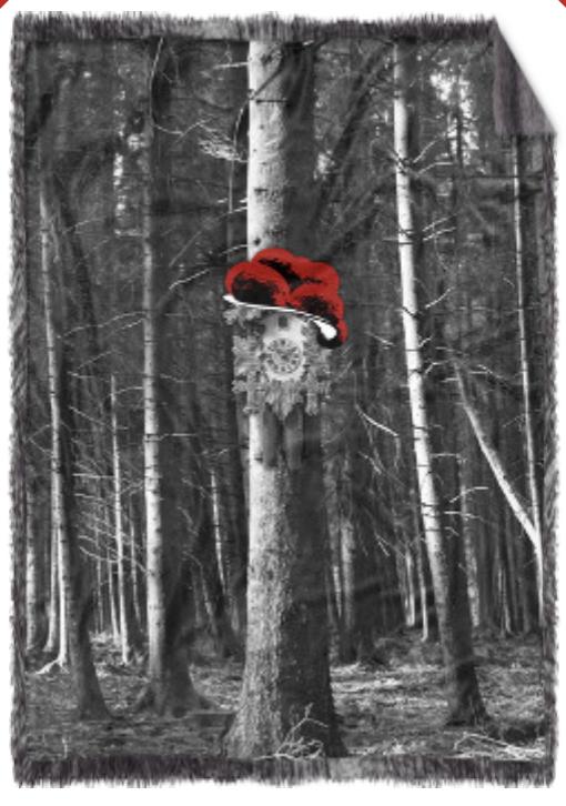 """Kuschel-Decke """"Kuckuck am Baum"""""""