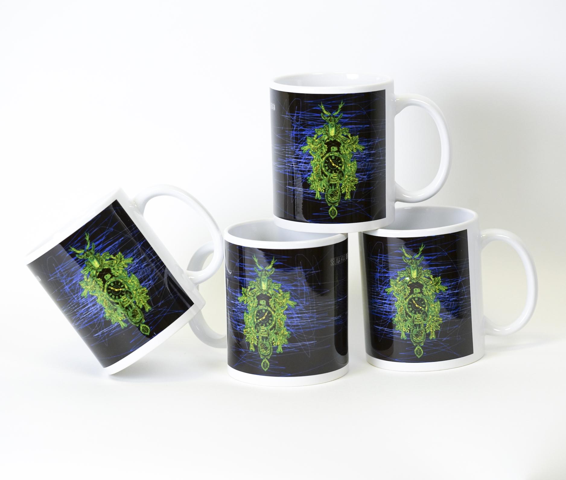 """4 x Tasse """"Die Zeit"""""""