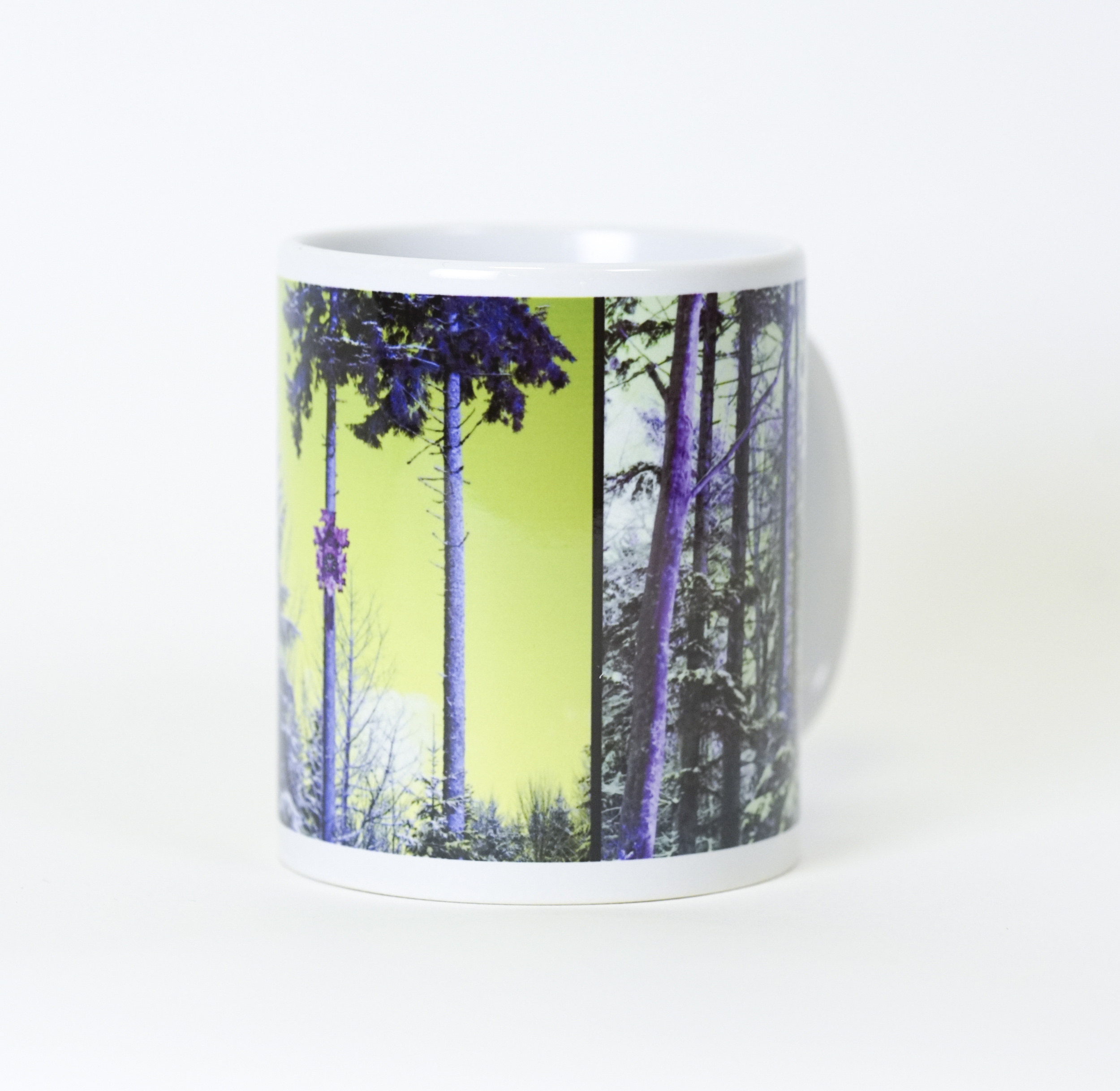 "4 x Tasse ""Waldspaziergang"""